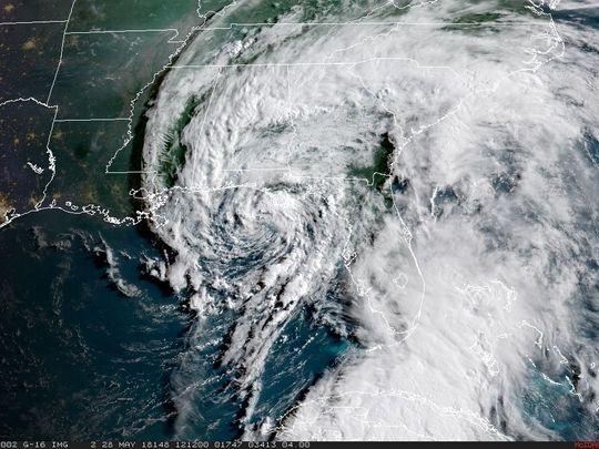 NOAA Satellite Image Hurricane Florence