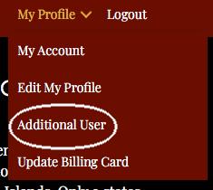 NCBF Additional User